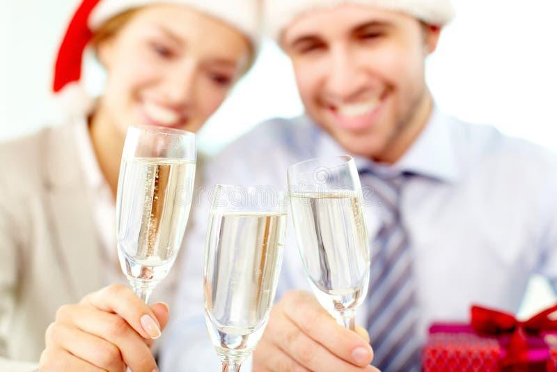 总公司新年度 免版税库存图片