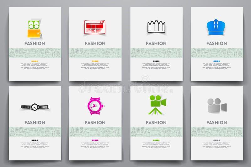 Download 公司本体传染媒介模板设置了与乱画时尚题材 向量例证. 插画 包括有 珠宝, 礼品, 设计, 衣物, 逗人喜爱 - 72352188