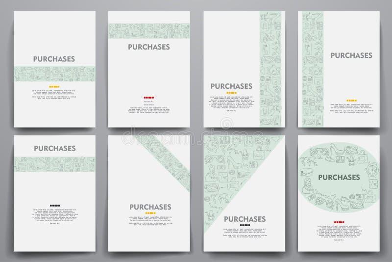 Download 公司本体传染媒介模板设置了与乱画销售题材 向量例证. 插画 包括有 抽象, 程序包, 概念, 设计, 精品店 - 72350667