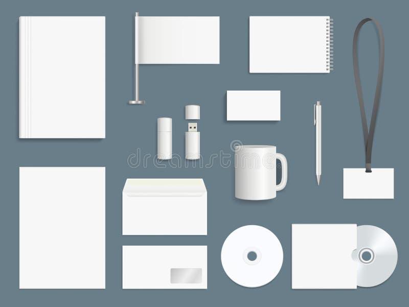 公司本体元素 企业固定式大模型收藏烙记的标志传染媒介设计模板 皇族释放例证