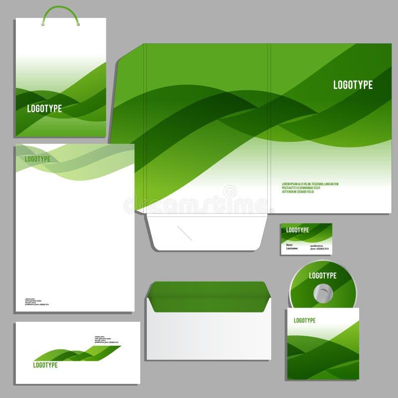 Download 公司本体更多我的投资组合设置模板 库存例证. 插画 包括有 格式, 文件, 文件夹, 文教用品, 绿色, 急性 - 59100879
