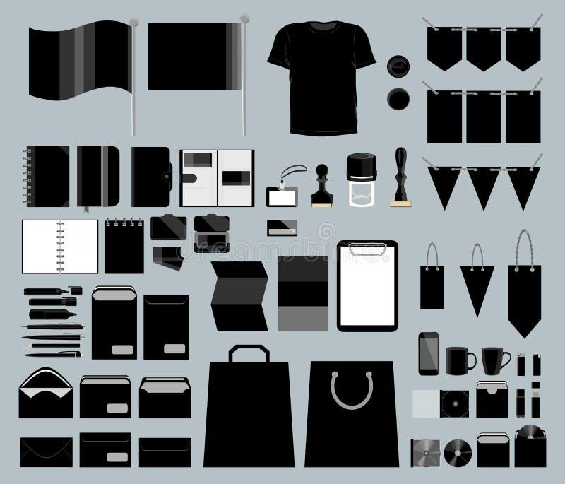公司设计集合 向量例证