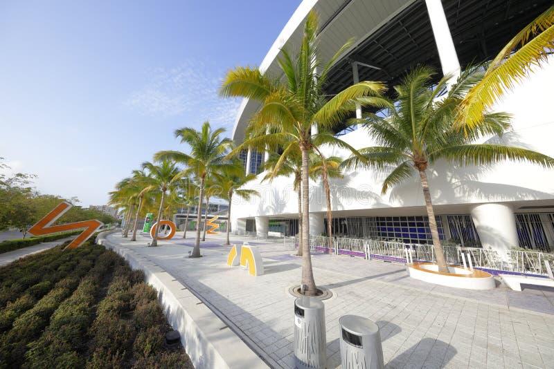 细索公园体育场迈阿密FL 库存图片