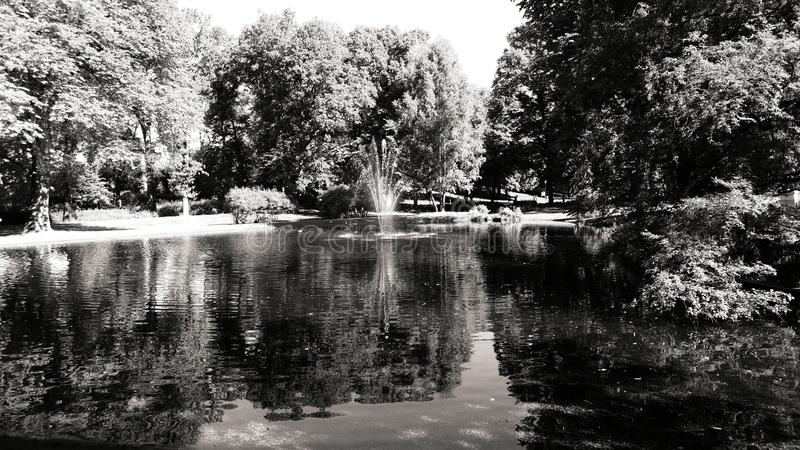 公园在奥斯陆 免版税库存图片