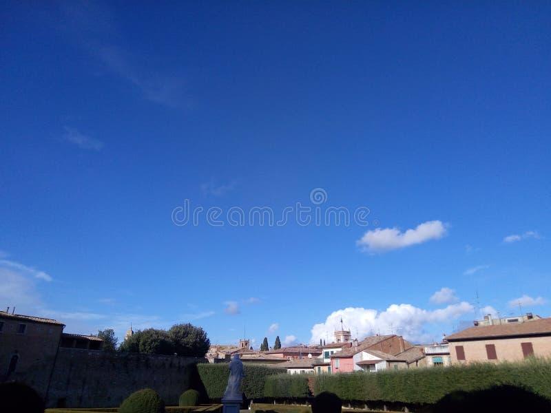 公园在意大利 库存图片