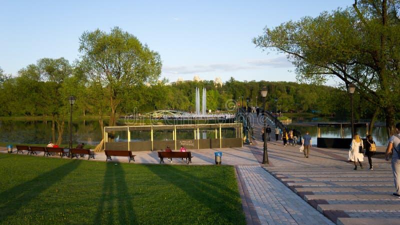 公园在莫斯科 库存图片