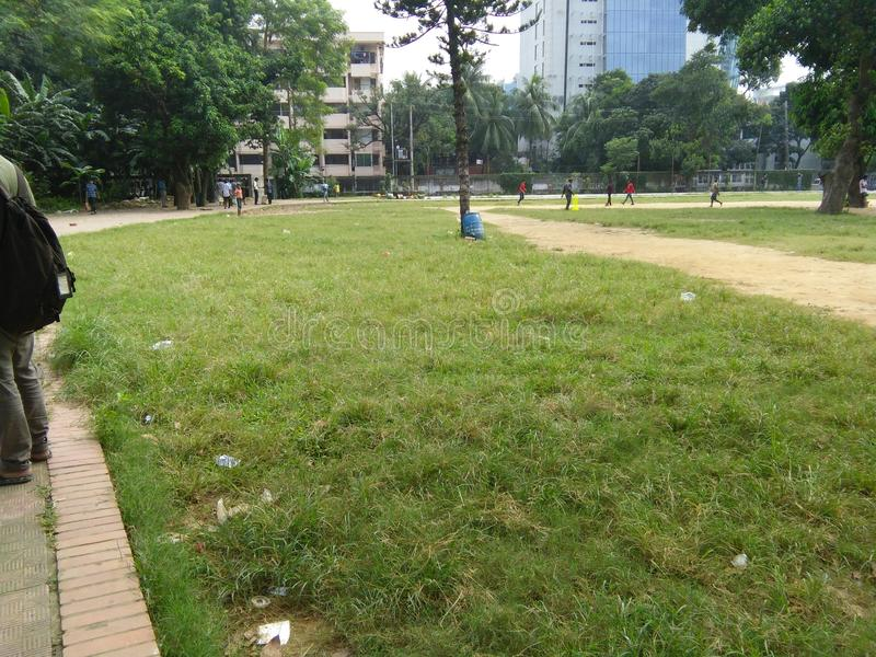 公园孟加拉国 免版税库存照片