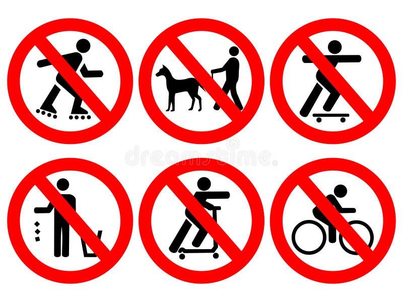 公园控制符号 图库摄影