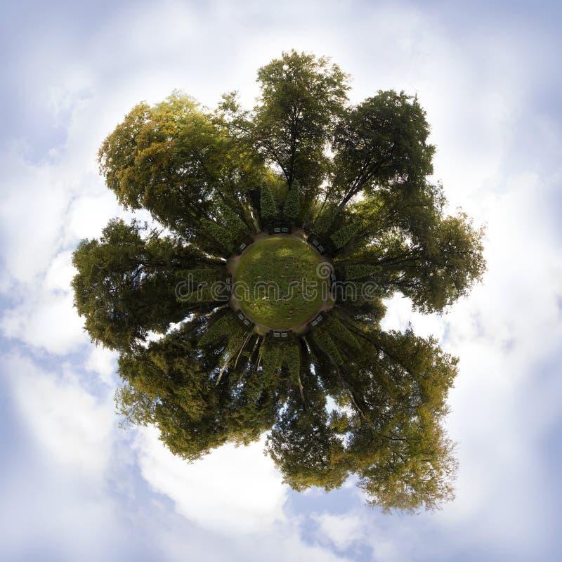 公园行星 库存图片