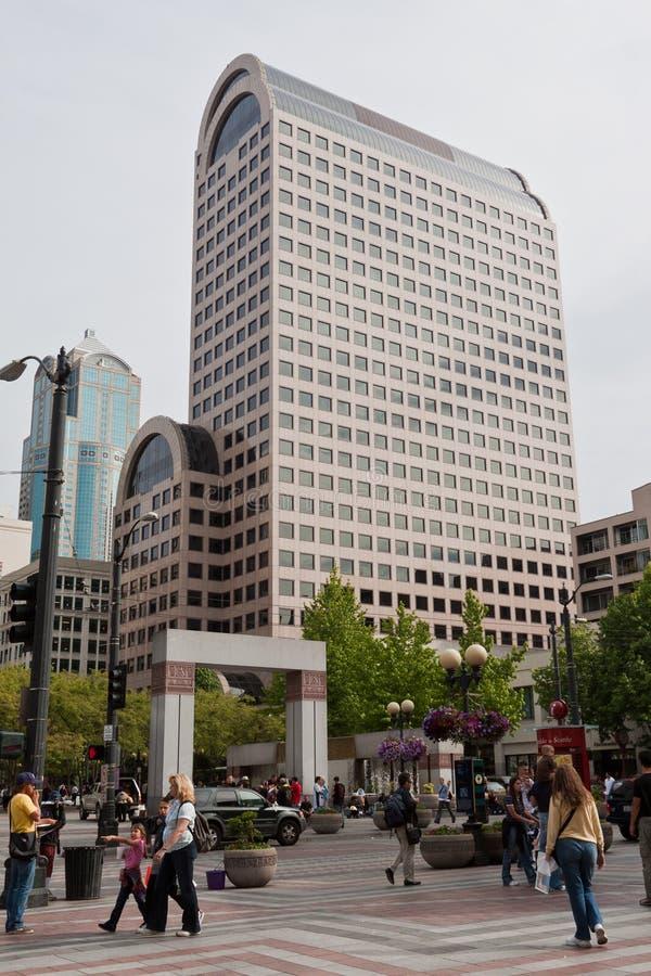 公园西雅图westlake 免版税库存图片