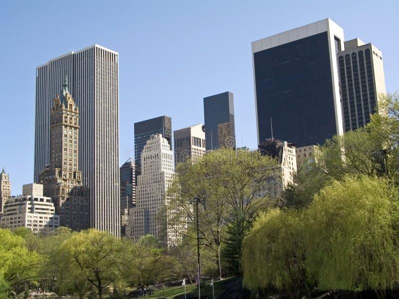 公园视图 免版税库存图片