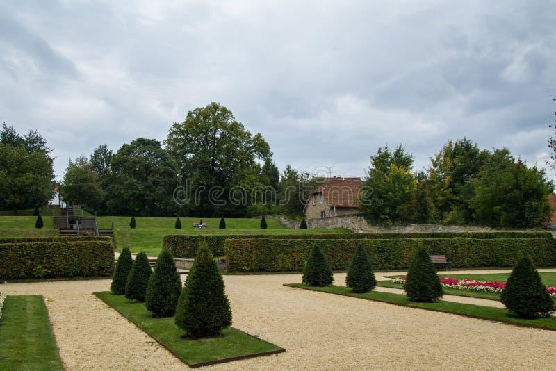 公园豪宅在德国 库存照片