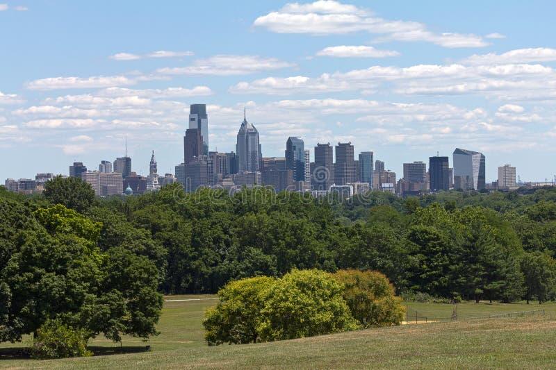公园费城地平线 图库摄影