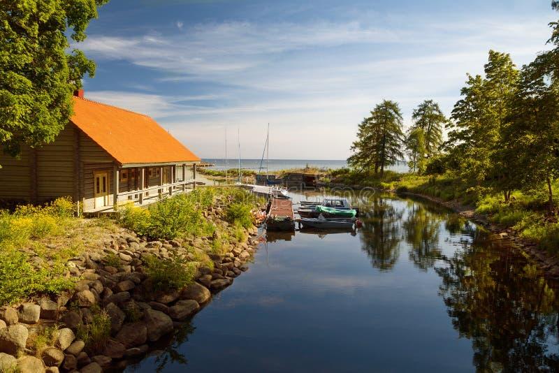 公园Toila-Oru - Toila,爱沙尼亚 库存图片