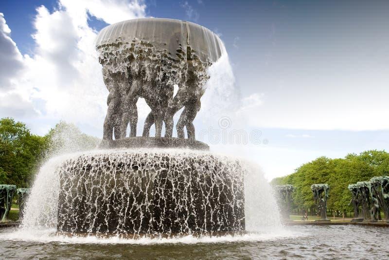 公园vigeland 免版税库存照片