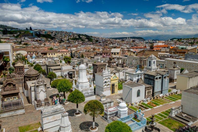 公墓圣地亚哥概要 免版税库存图片