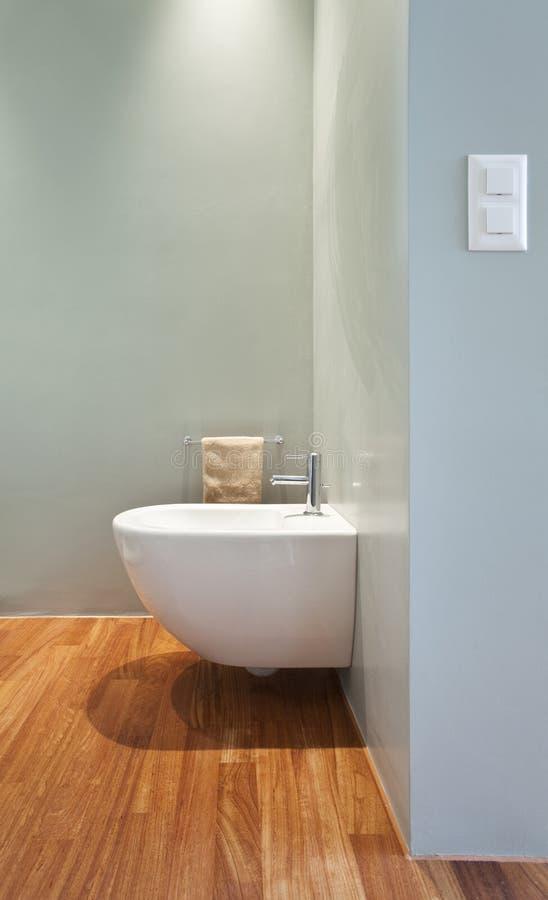 公寓内部现代视图 免版税库存照片