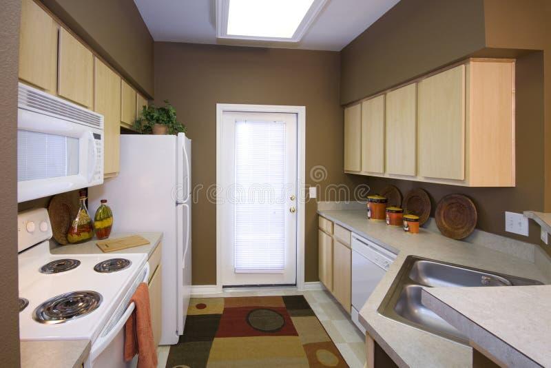 公寓厨房 库存照片