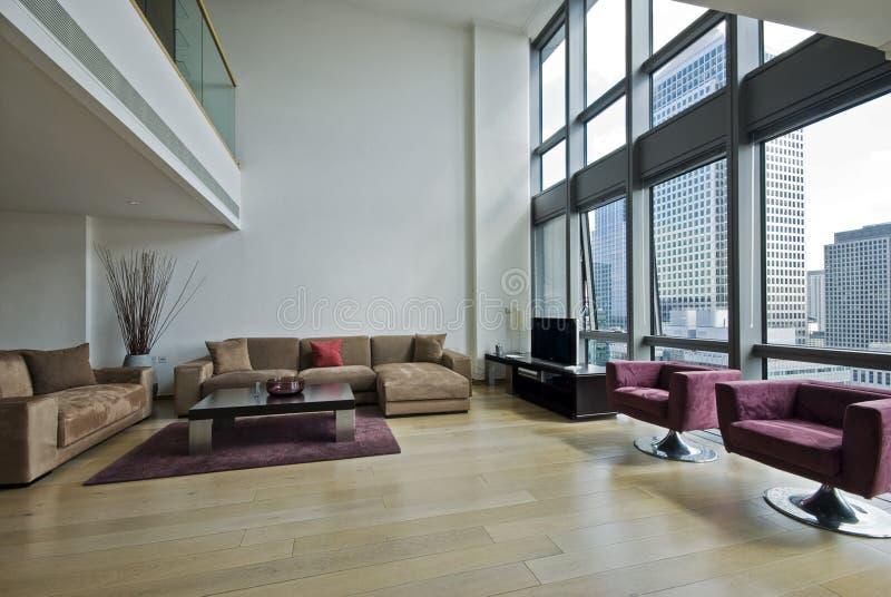 公寓套楼公寓 免版税库存图片