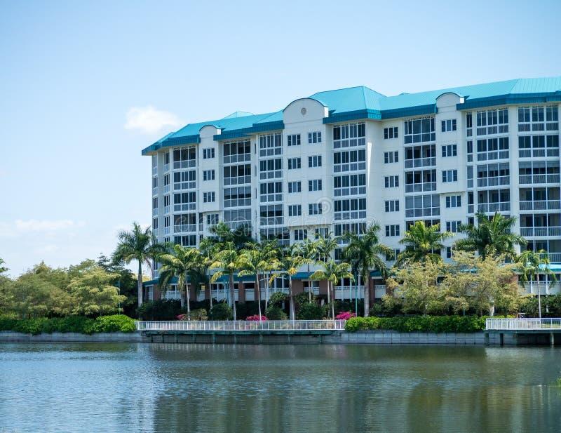 公寓房佛罗里达 库存图片