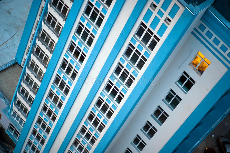 公寓楼梦之家 免版税库存照片