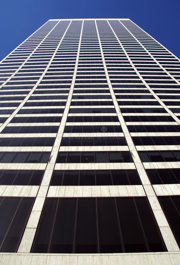 公寓楼高层scrappers天空 库存照片