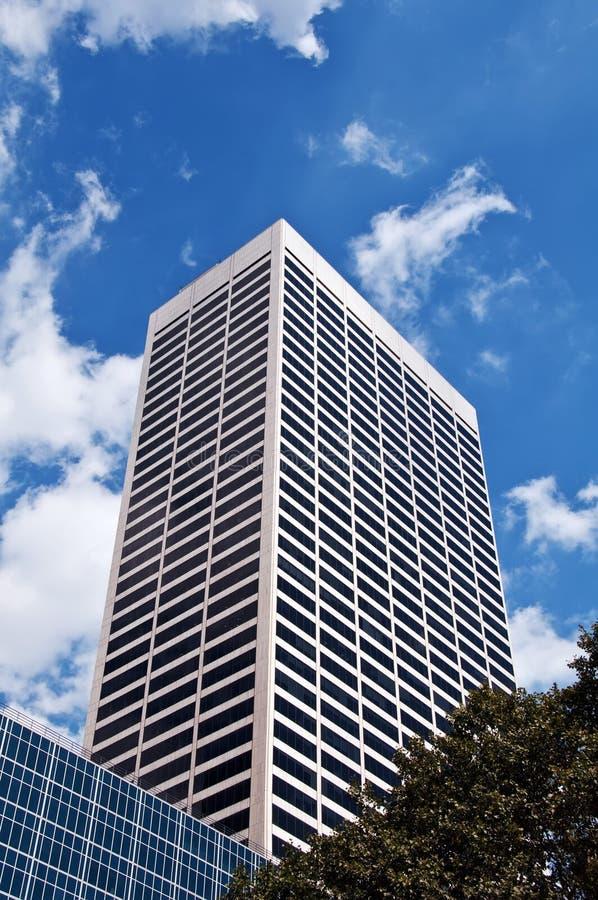 公寓楼高现代上升scrappers天空 免版税库存图片