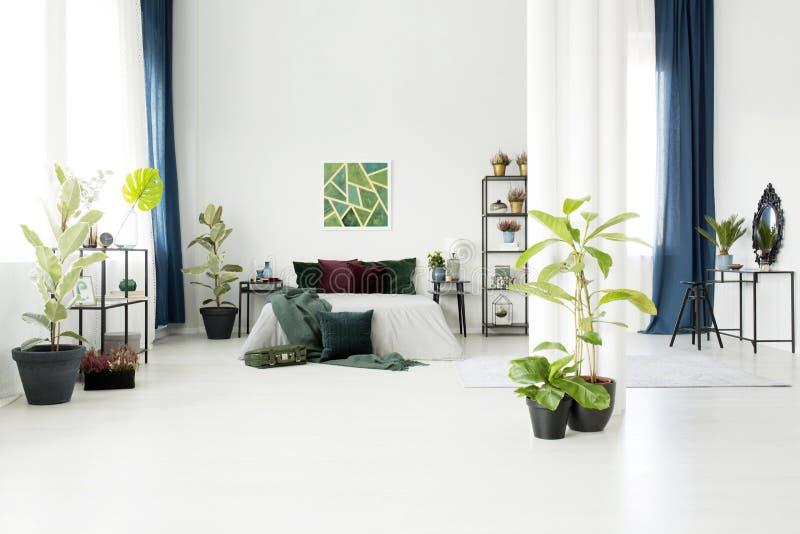 公寓现代工作室 库存图片