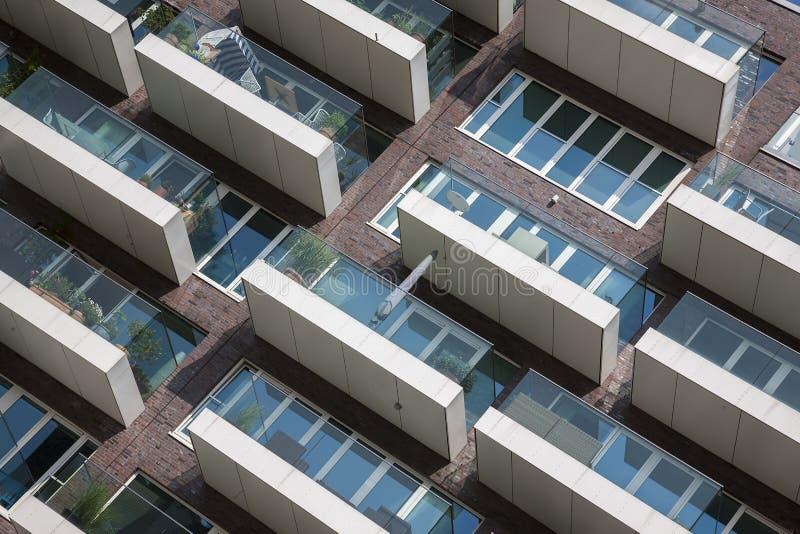 公寓现代新 图库摄影