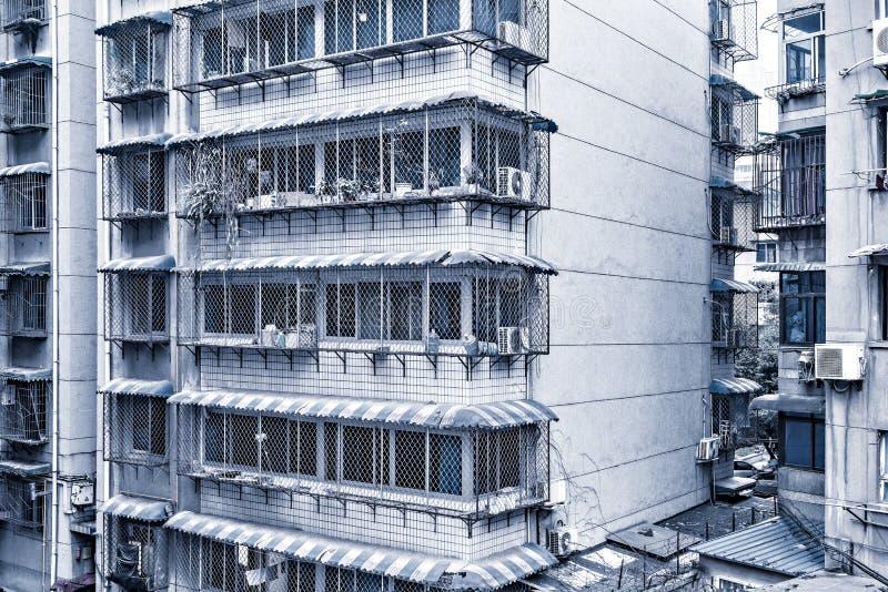 公寓的外部 免版税库存图片
