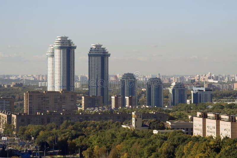 公寓莫斯科 免版税库存照片