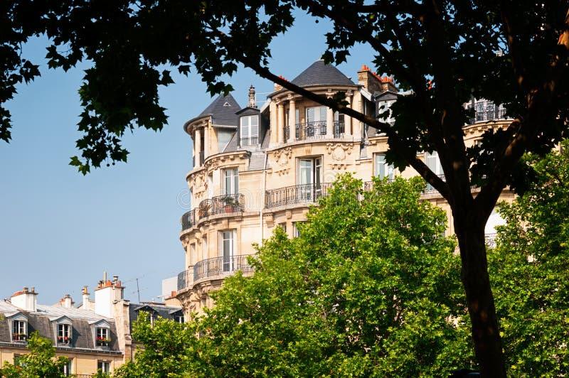 巴黎公寓 库存照片