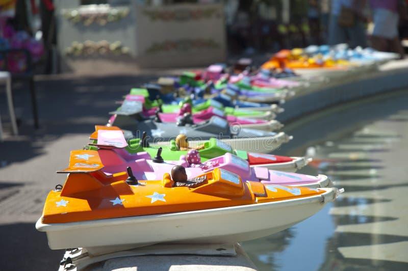 公平的小船 免版税库存图片