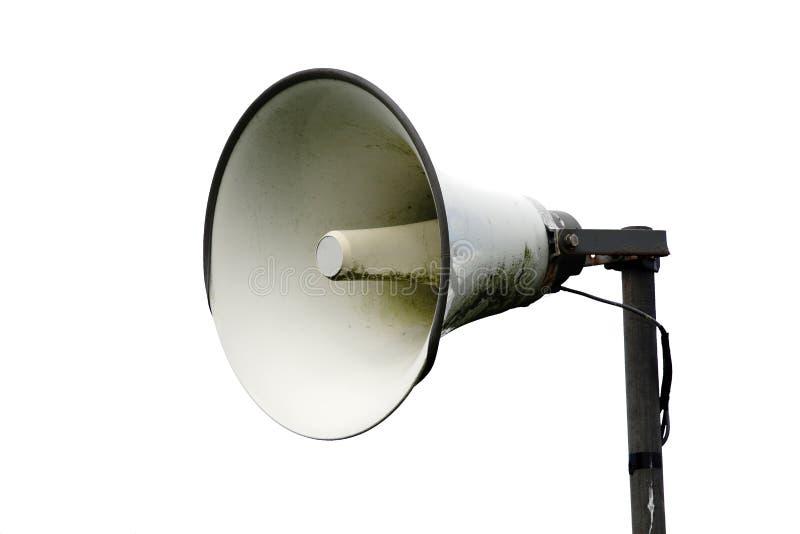 公开编址系统扩音机报告人 图库摄影