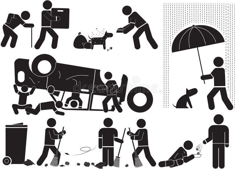 Download 公开头脑 向量例证. 插画 包括有 棍子, 捐赠, 社会, 人类, 志愿者, 工作成绩, 人们, 人道主义 - 59109389