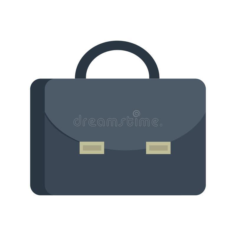公文包在平的设计的传染媒介例证 向量例证