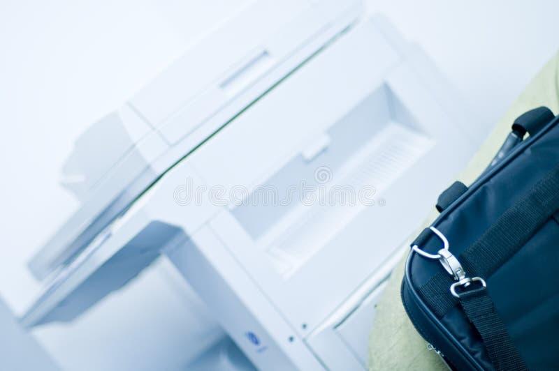公文包影印机 免版税图库摄影