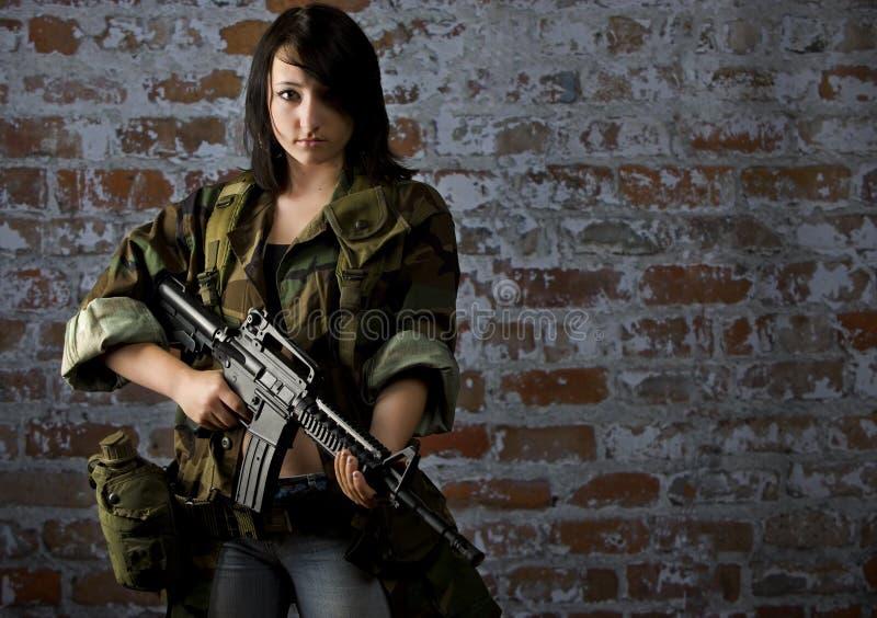 公民战士 免版税库存图片