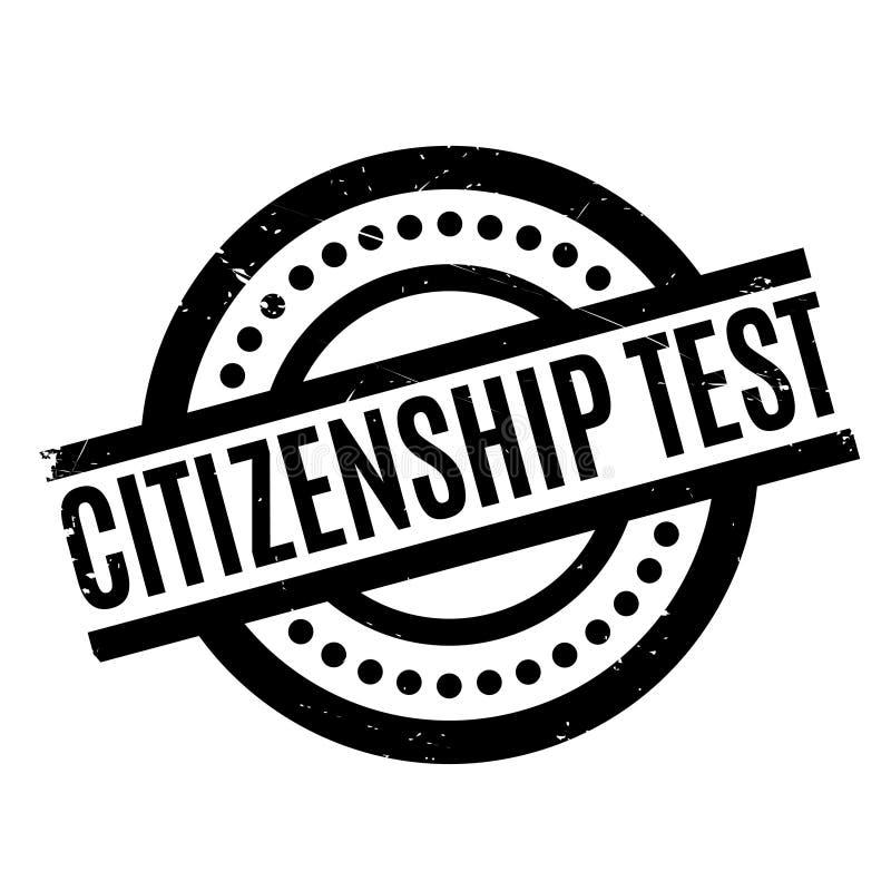 公民身份测试不加考虑表赞同的人 皇族释放例证