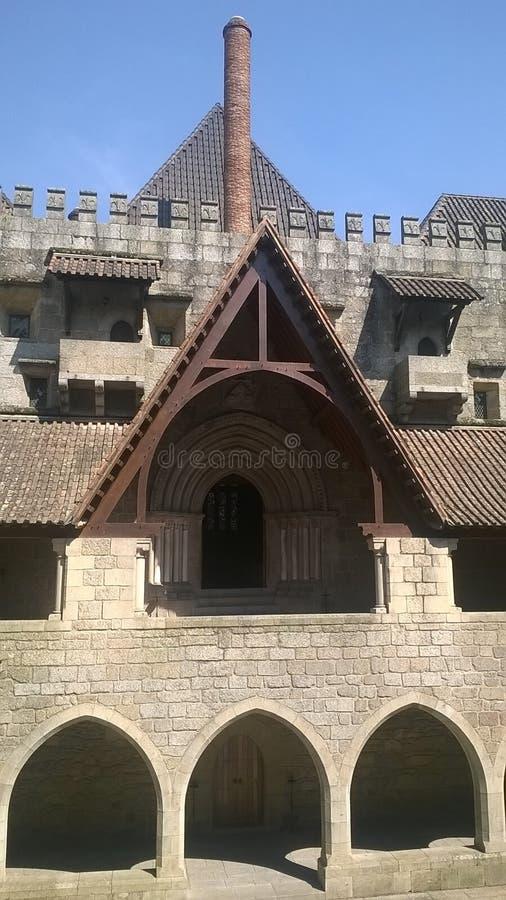 公爵GuimarA£ess的宫殿 免版税库存图片