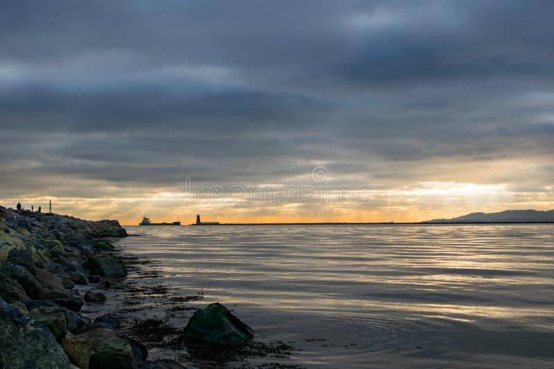 公牛海岛,都伯林爱尔兰 图库摄影