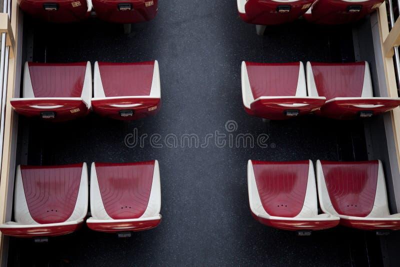 公车运送甲板分层装置双较大 免版税库存图片