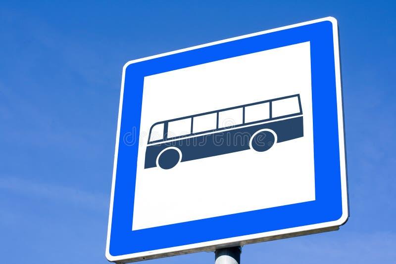 公车运送符号 库存照片