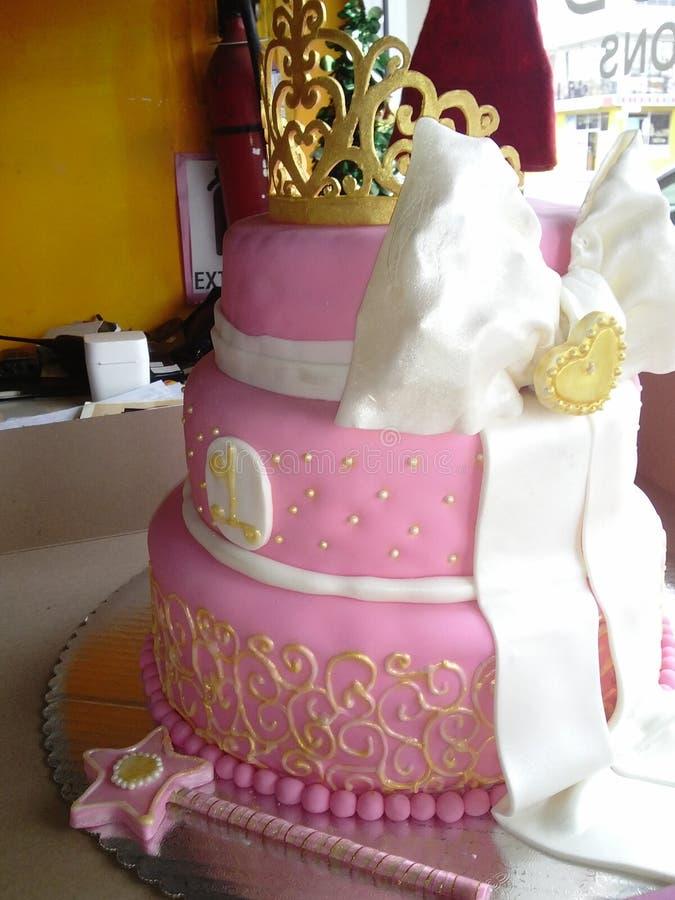 公主蛋糕 图库摄影
