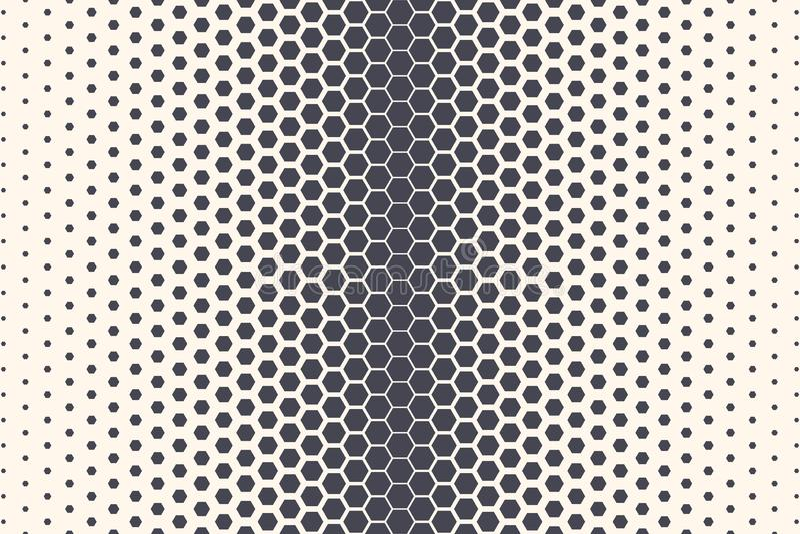 六角形传染媒介摘要技术背景 向量例证