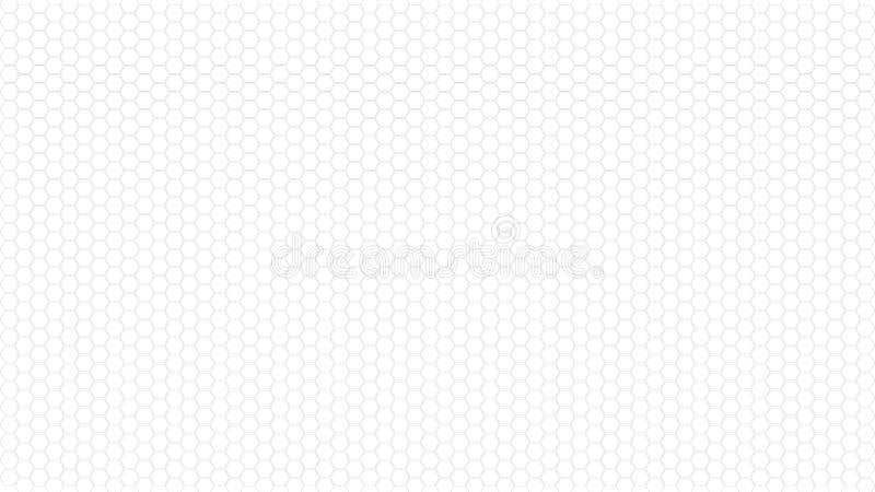 六角形无缝的啪答声 抽象背景 例证 库存例证