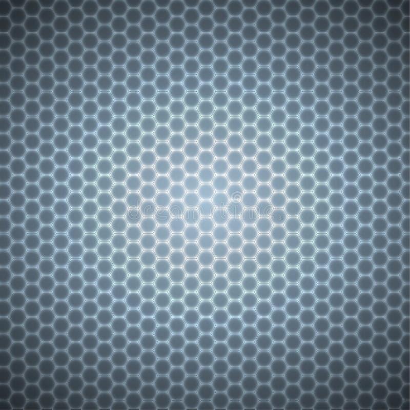 六角形样式 皇族释放例证