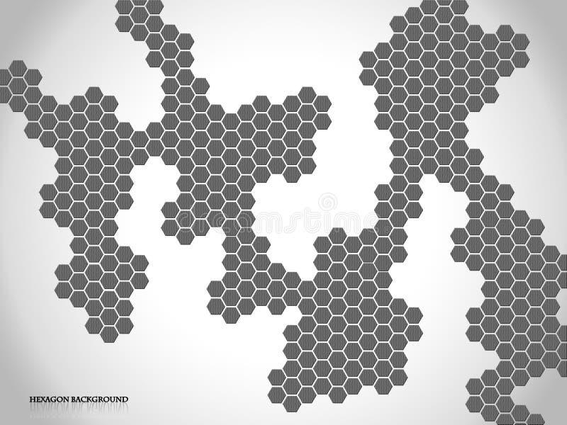 六角形背景 免版税库存照片