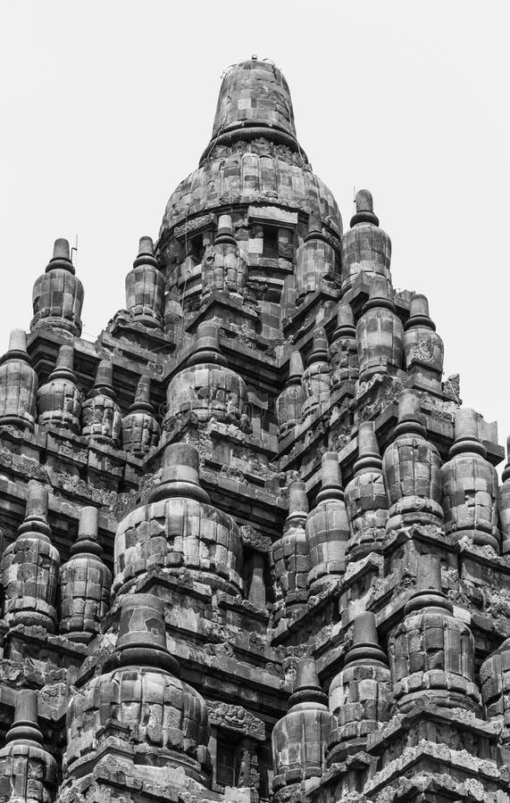 巴兰班南寺庙细节  免版税库存图片