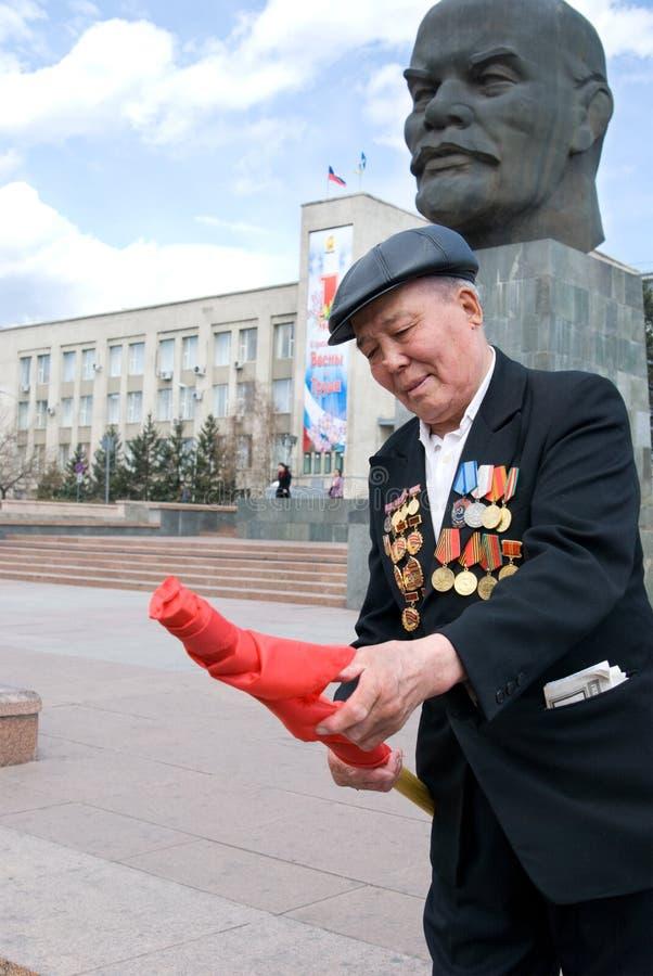 共产主义演示 图库摄影